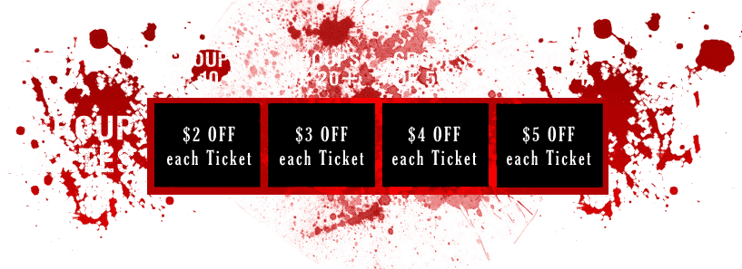 Group pricing for haunted house in Cottage Grove, MN