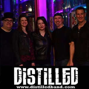 The Haunting Experience - Live Music -Distilled Band Image